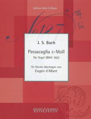 Bach, J S: Passacaglia C minor BWV 582