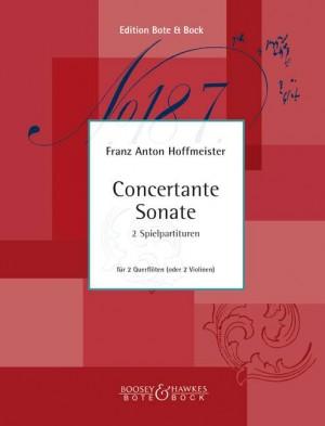 Hoffmeister, F A: Concertante Sonata