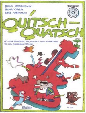 Bruno Szordikowski: Quitsch-Quatsch - BUCH und CD