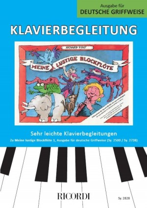 Richard Voss: Meine lustige Blockflöte Band 1 (deutsche Griffw.)