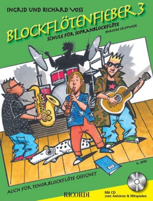 Voss: Blockflötenfieber Vol.3 (sop)