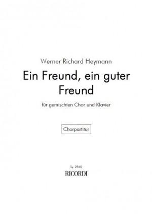 Heymann: Ein Freund, ein guter Freund
