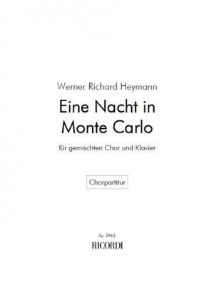 Heymann: Ein Nacht in Monte Carlo