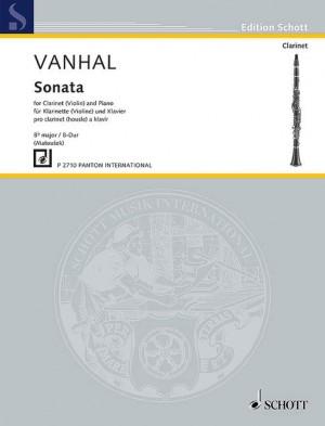Vanhal, J K: 1. Sonáta B-Dur