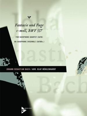 Bach, J S: Fantasie und Fuge c-Moll BWV 537