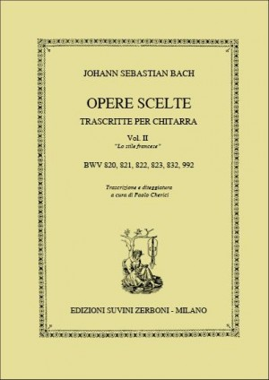 Johann Sebastian Bach: Opere Scelte trascritte per chitarra vol. 2