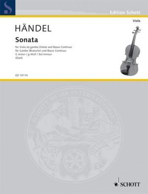 Handel, G F: Sonata G Minor
