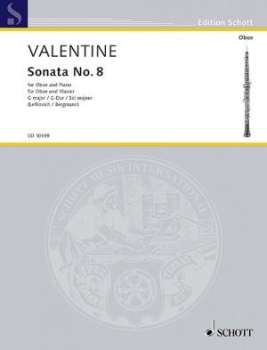Valentine, R: Sonata No. 8 in G major
