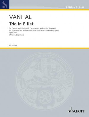 Vanhal, J K: Trio E Flat major op. 20/5
