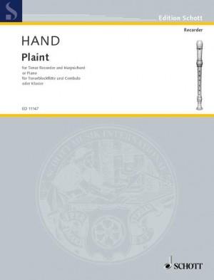 Hand, C: Plaint