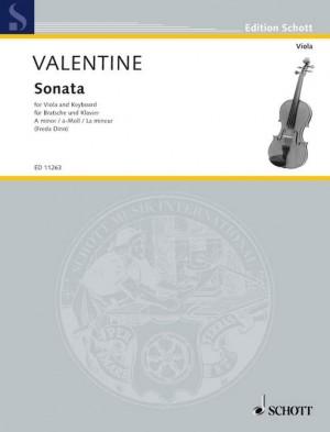 Valentine, R: Sonata in A Minor (No. 9)