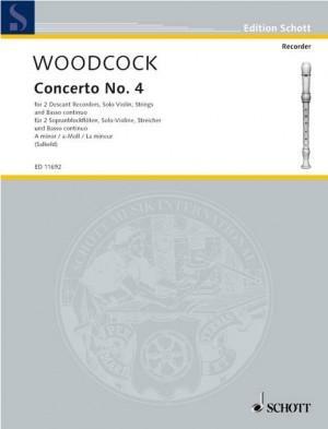 Woodcock, R: Concerto No. 4 A minor