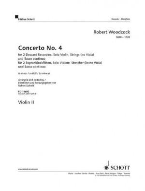 Woodcock, R: Concerto No. 4 in A minor