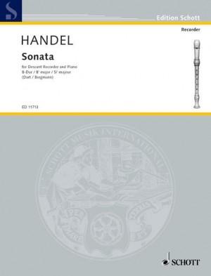 Handel, G F: Sonata Bb major HWV 357