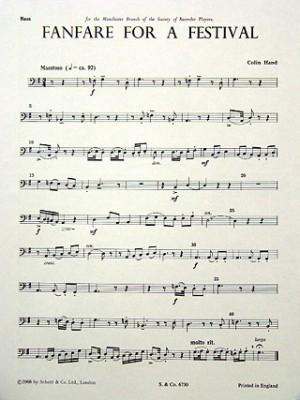 Hand, C: Fanfare for a Festival op. 64