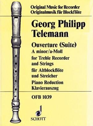 Telemann: Ouverture (Suite) A minor