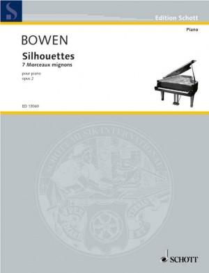Bowen, Y: Silhouettes op. 2