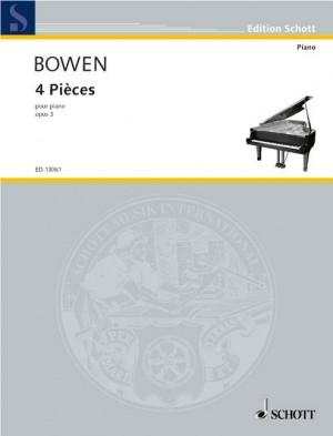 Bowen, Y: 4 Pieces op. 3