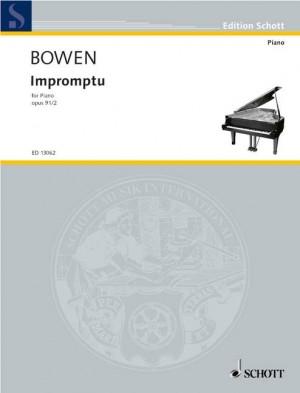 Bowen, Y: Impromptu op. 91/2