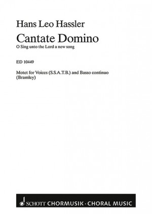 Hassler, H L: Cantate Domino