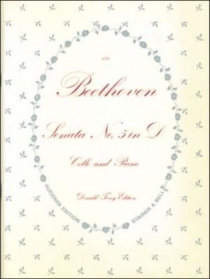 Beethoven: Sonata No. 5 in D, Op. 102, No. 2. Cello and Piano