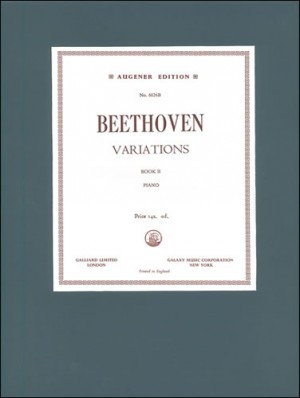 Beethoven: Variations, The. Book 2: WoO 63 to 68, 73, 78 and 79, Op. 35 and Op. 120