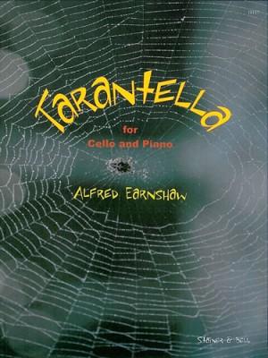 Earnshaw Tarantella Op 44 No 4 Cello Pf Presto Sheet