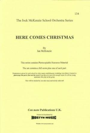 Here Comes Christmas, set