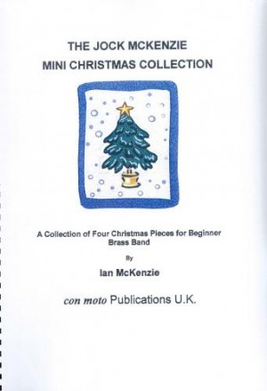 Jock McKenzie Mini Christmas Collection, brass band score only