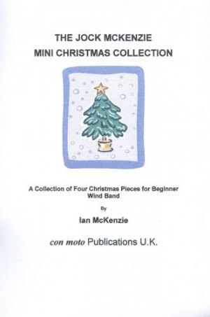 Jock McKenzie Mini Christmas Collection, wind band score only