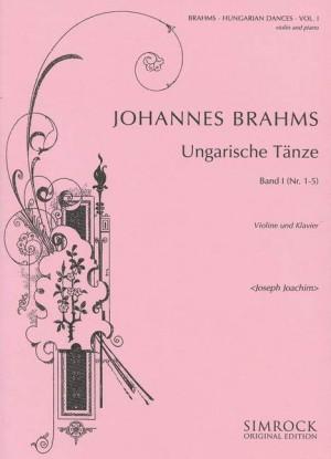 Brahms, J: Hungarian Dances Band 1