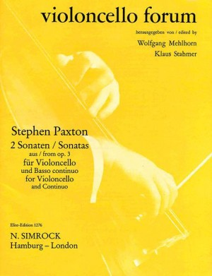 Paxton, S: Two Sonatas op. 3