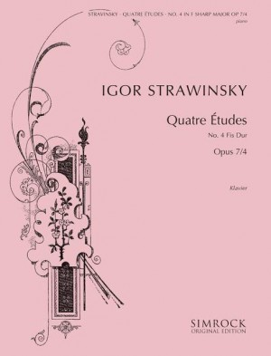 Stravinsky, I: Four Studies op. 7/4