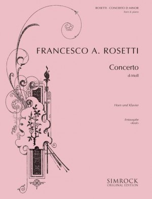 Rosetti, A: Concerto D Minor Murray C38