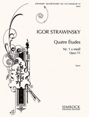 Stravinsky, I: Four Studies op. 7/1