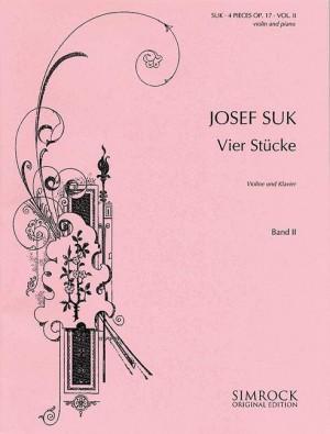 Suk, J: Four Pieces op. 17 Band 2