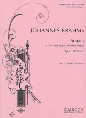 Brahms, J: Sonata in E Flat Major op. 120/2