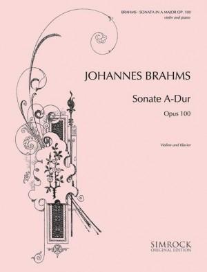 Brahms, J: Sonata in A Major op. 100