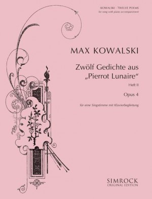 Kowalski, M: 12 Poems op. 4 Band 2