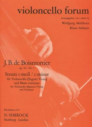 Boismortier, J B d: Sonata in C Minor op. 50/5