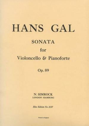 Gál, H: Sonata in C Minor op. 89