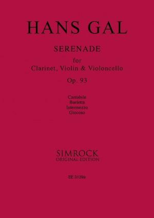 Gál, H: Serenade op. 93