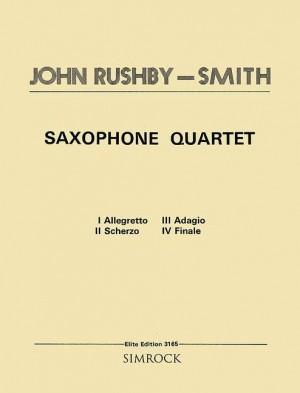 Rushby-Smith, J: Saxophone Quartet