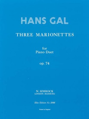 Gál, H: Three Marionettes op. 74