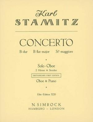 Stamitz, C P: Concerto in B Flat Major