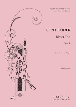Boder, G: Woodwind Trio op. 1