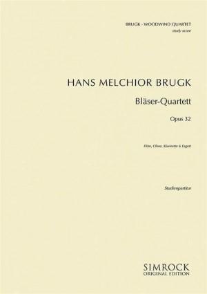 Brugk, H M: Woodwind Quartet op. 32