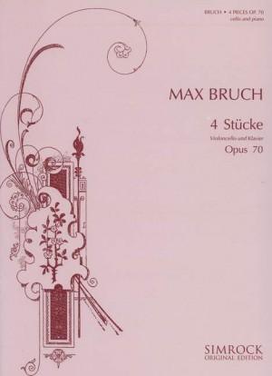 Bruch, M: Four Pieces op. 70
