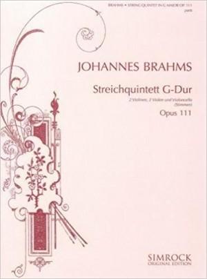 Brahms, J: String Quintet in G op. 111