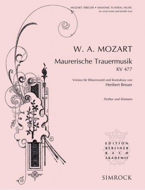 Mozart, W A: Masonic Funeral Music KV 477